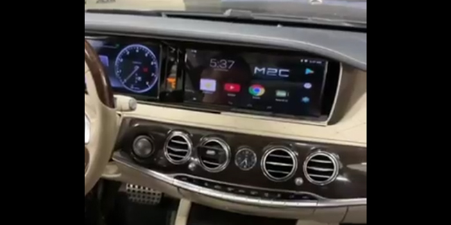 Mercedes Benz S Class W222 Android with 12 1 Screen Touch